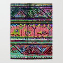 Cobertor Nativ Poster