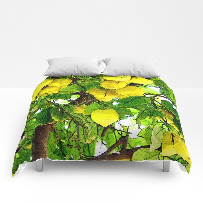 If life gives you lemons... Comforters