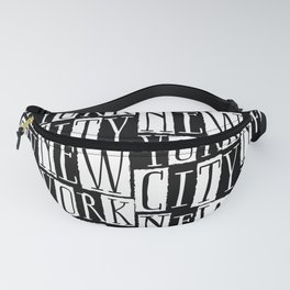 In a New York City Frame of Mind Fanny Pack
