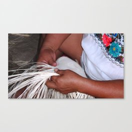 Mayan Hands Canvas Print