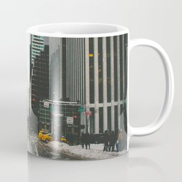 Winter In the Streets Coffee Mug