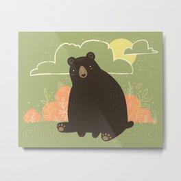 HELLO, BEAR! Metal Print