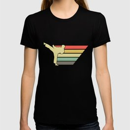 Retro Kung Fu Karate T-shirt