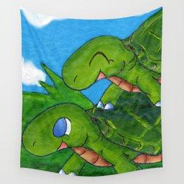 Piggyback Playtime Wall Tapestry