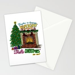 That's Christmas to Me Stationery Cards