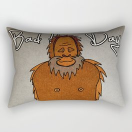 bad hair day no:4 / Bigfoot Rectangular Pillow