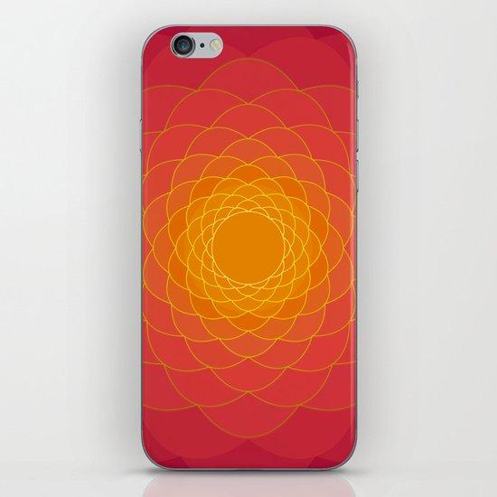 Oriental Background iPhone & iPod Skin