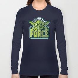 Dagobah Swamp Force - Teal Long Sleeve T-shirt