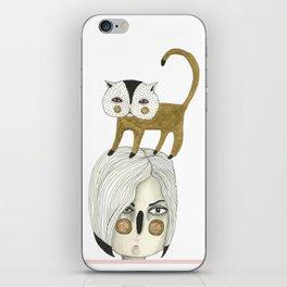 Cat Head iPhone Skin