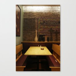 a chicago table Canvas Print