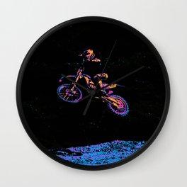 AIR TIME - Motocross Sports Art Wall Clock