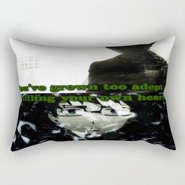 Fragile Heart - Yukio Okumura Rectangular Pillow