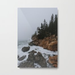Bass Harbor, Maine Metal Print