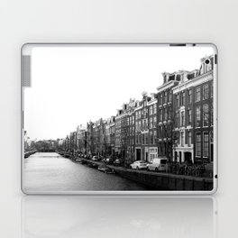 canal in Amsterdam Laptop & iPad Skin