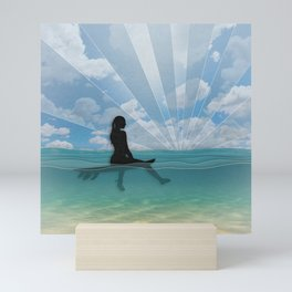 View from a Surfboard Mini Art Print