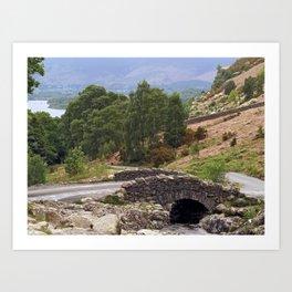 Ashness Bridge Art Print