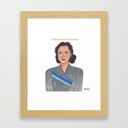 Lolita Lebron Framed Art Print