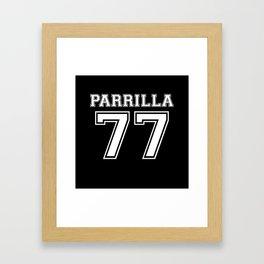 Parrilla 77 Framed Art Print