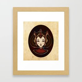 Amidala Framed Art Print
