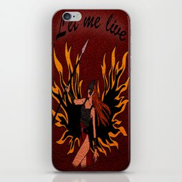 Resident Evil Claire Redfield Jacket iPhone Skin