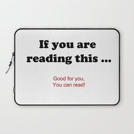 If you are reading this ... Laptop Sleeve