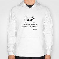 playstation Hoodies featuring PlayStation by Mokokoma Mokhonoana