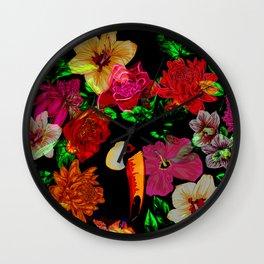 Exotica_01 Wall Clock