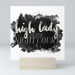 ACOTAR -- High Lady of the Night Court Mini Art Print