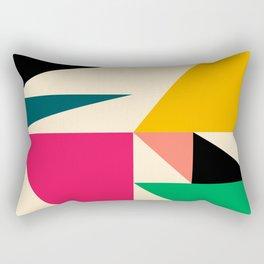 Triangled 08 Rectangular Pillow
