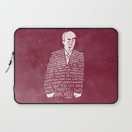 My Name is John Daker Laptop Sleeve