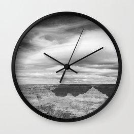Counterbalance bw Wall Clock