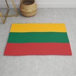 Flag: Lithuania Rug