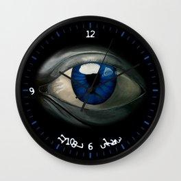 Look Into My Eye Wall Clock