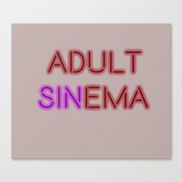Sinema Canvas Print