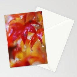 japanese maple II Stationery Cards