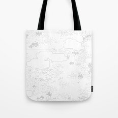 land of 15 towns and a cemetary Tote Bag