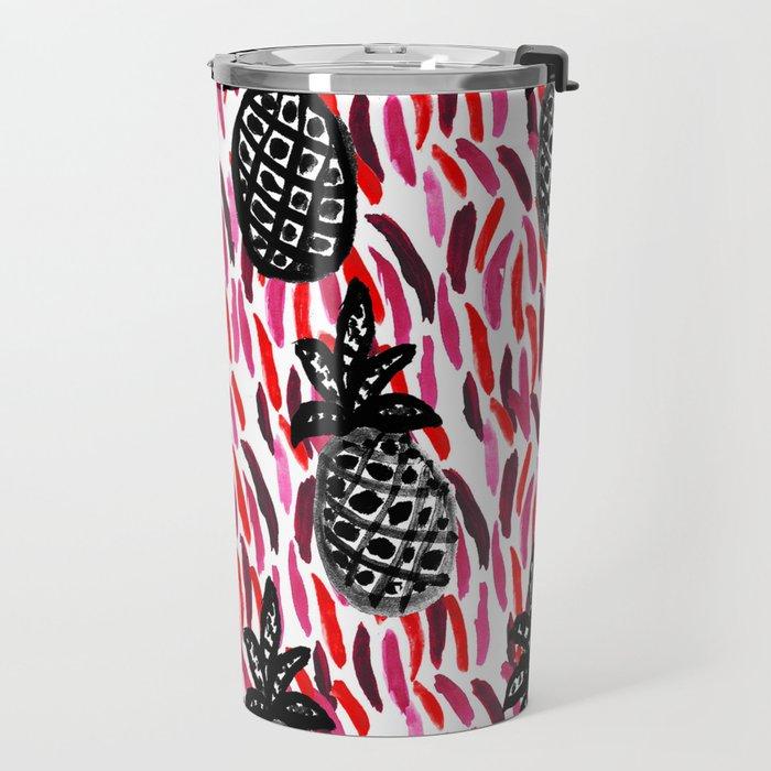 Weird Pineapples II Travel Mug