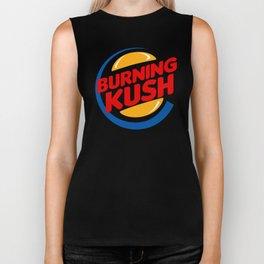 BURNIN KUSH Biker Tank
