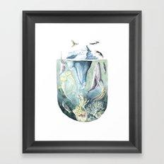 Deep Ocean Framed Art Print
