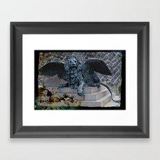 StMarkLion Framed Art Print