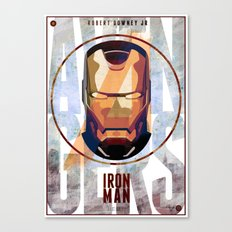 Avengers : IRON MAN print  Canvas Print