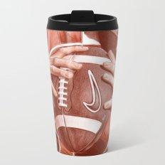 American Football Metal Travel Mug