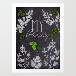 My Parsley Art Print
