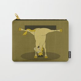 Monogram T Pony Carry-All Pouch
