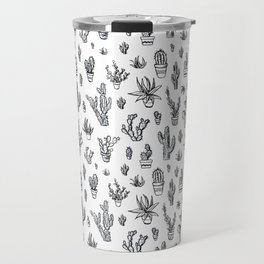 Cactus Pattern Travel Mug
