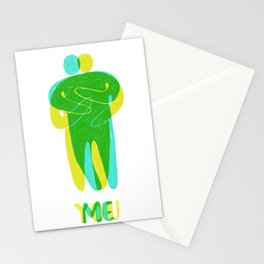 Me + You = Us Stationery Cards