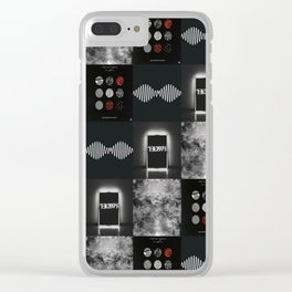 TOP Blurryface AM Poster Clear iPhone Case
