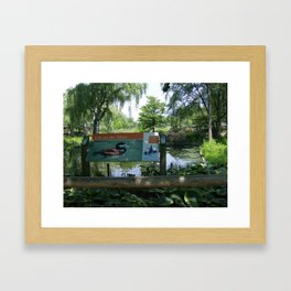A Quiet Moment Framed Art Print