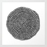 Roly Poly Art Print