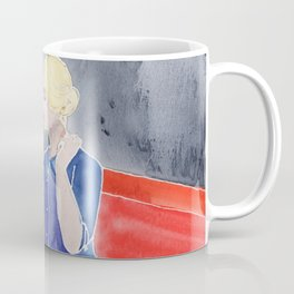 Tippi Hedren & a Crow Coffee Mug